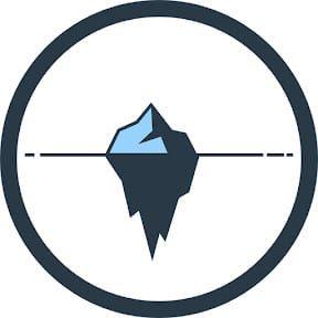 Logo del Podcast y Canal de Youtube de Iceberg de Valor.